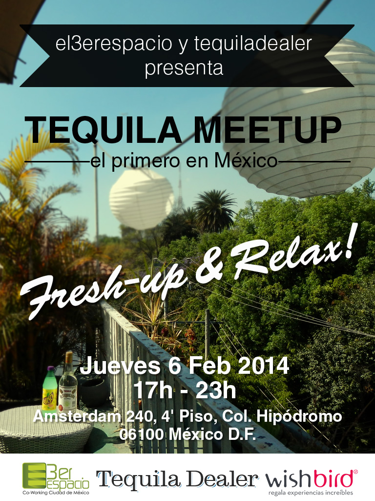 Tequila Meetup Mexico City