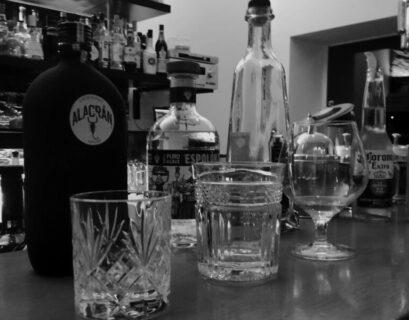 mezcal gläser und tequila gläser