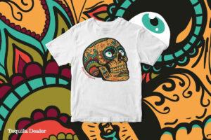 Sugar Skull - dia de los muertos