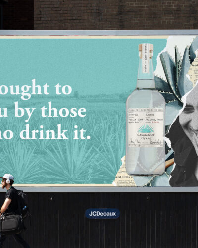 Casamigos Billboard Mock up